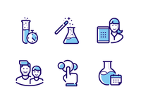 MEL Science icons