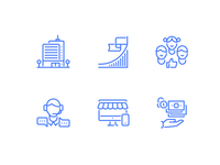 Icon for web shop