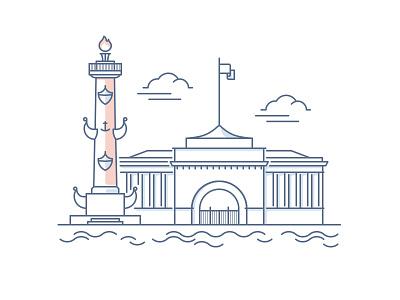 St Petersburg — Panorama Challenge st petersburg building russia city panorama