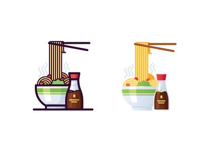 Noodles icons