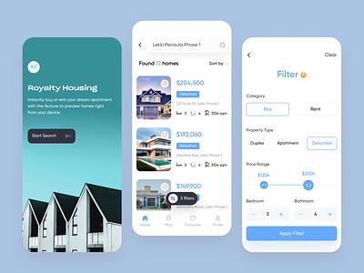 Real Estate App filter ui filter filters search mobile design mobile ui mobile app application app design uxdesign ux uiux uidesign realistic real estate realestate ui