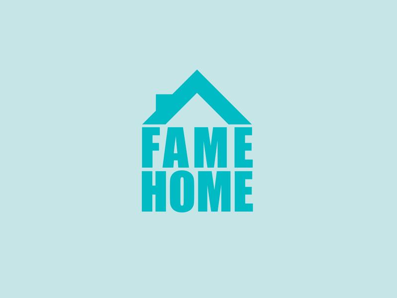 Fame Home design illustration logos branding vector logo design logodesign logo