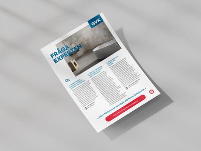 GVK Advertisement design marketing print whitepaper advert sales tool corporate business press