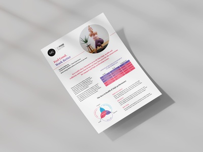 MFC Corporate Program sales tool corporate flyer marketing print whitepaper corporate modern flyer business
