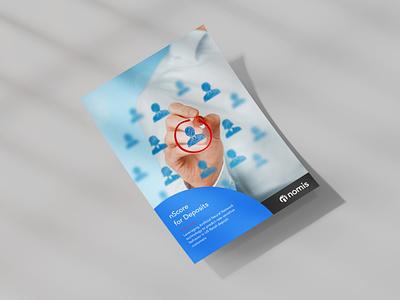 Nomis Marketing print sales tool whitepaper flyer marketing corporate fintech business
