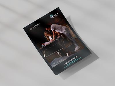 PVM House Report print marketing flyer report design sales tool modern whitepaper corporate business