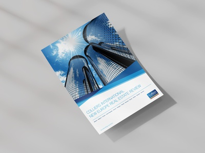 Colliers CEE Report whitepaper real estate contemporary modern design ebook marketing report business