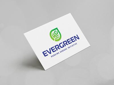 Evergreen PGI branding design brand identity modern corporate business logo