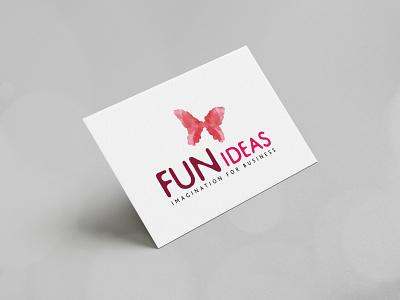 Fun Ideas branding design brand identity modern corporate business logo