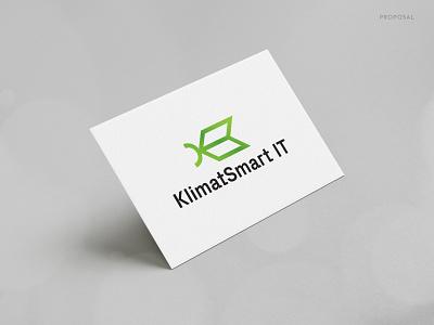 Klimat Smart IT technology branding design brand identity modern corporate business logo