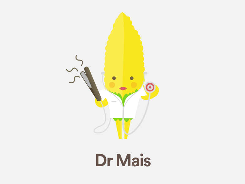Dr Mais sketchapp medical dr piastra caracter mais