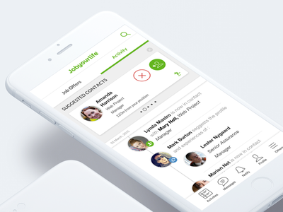 Jobyourlife Mobile App sketch app