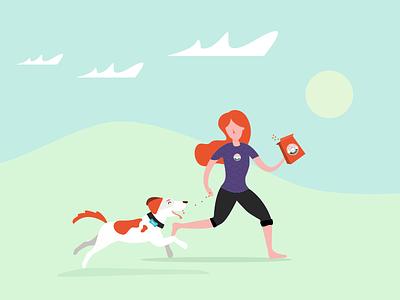 Mongrel Illustration design ui sketch pets mongrel
