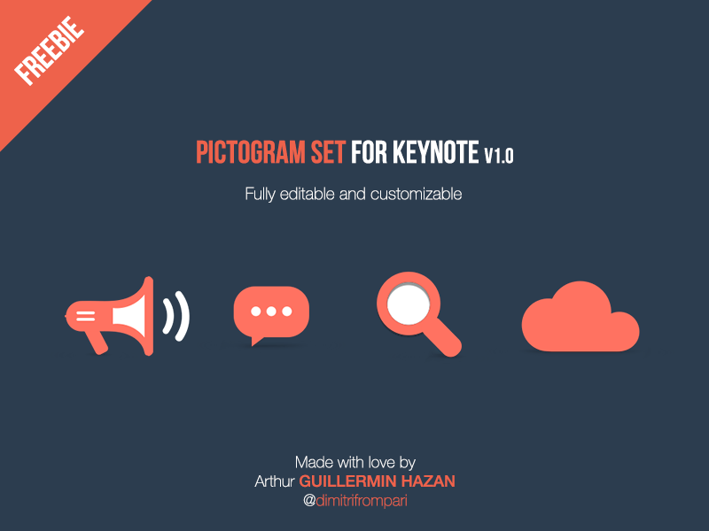 Free Pictograms For Keynote freebie pictogram icons keynote free