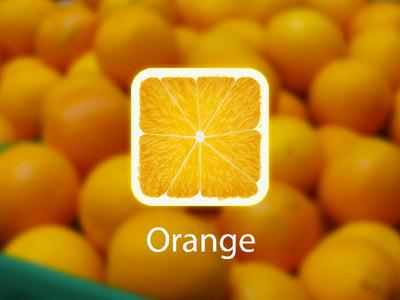 Orange Fruit iOS icon