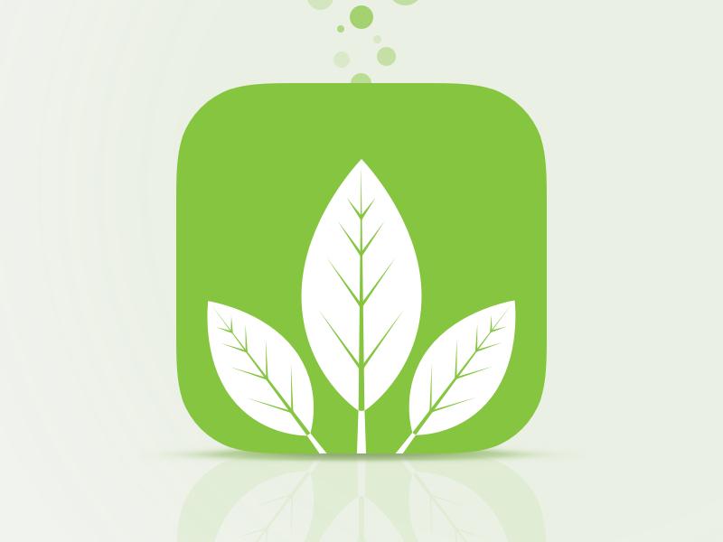 Logo iOS for a garden management app by Arthur Guillermin ...