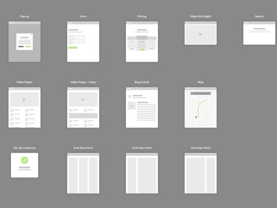[UPDATE] Flowchart Kit for Sketch with symbols toolbox set kit flowcharts sitemap flowchart sketch zoning wireframe free freebie