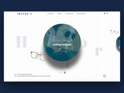 Hector - Optical website 2018