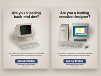 Adfab x Bandersnatch Recruiting campaign 🚀
