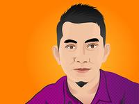 Vector Potrait adobe illustrator vector