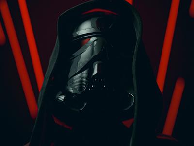 Sith-trooper octanerender octane substance painter maxonc4d lazer star wars day stormtroooper star wars starwars dark black 3d