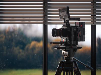 Fully Rigged - A Vintage Monstro learnsquared learn squared gear vintage lens monitor monstro 8k monster cinematography vizualization render red digital cinema 3d