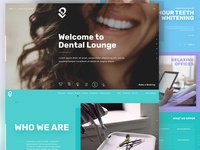 Dental Lounge Website Look and Feel