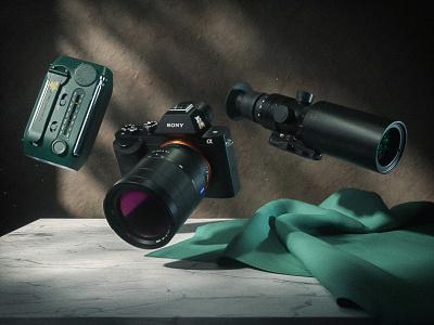 HSM02: Stakeout Gear design dark black 3d