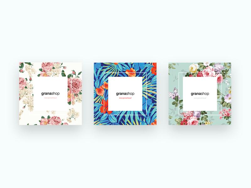 Stickers! Grana fashion store typography typo pattern flowers flower stickers print