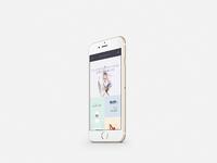 Atelier homepage mobile visualisation