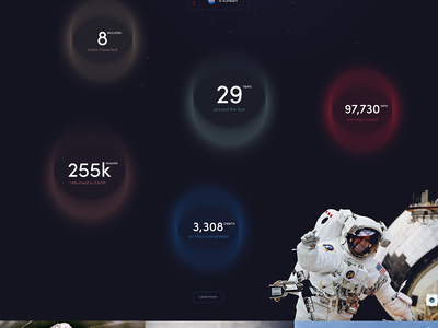 2016 was a good year galaxy nasa colors designer shapes shape portfolio webdesign web