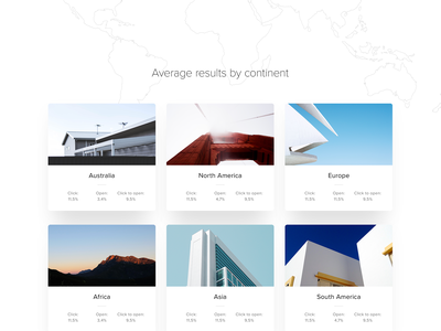 Email marketing benchmarks ux ui landing page shapes shape mobile agency homepage webdesign web