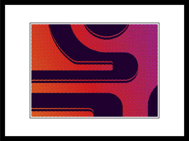 Halftone gradients vector graphic design illustrator gradient flat design illustration