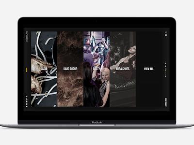 EvoxLab projects page website design web design webdesign ux ui design