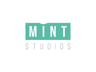 Logo concept design for Mint studios #2 web design webdesign logos logo logo design graphicdesign design