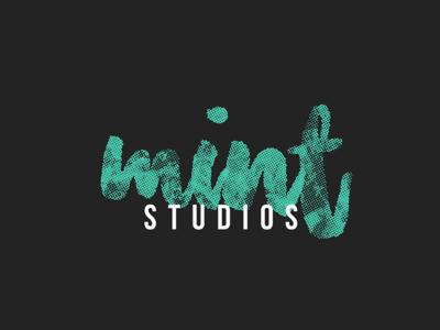 Logo concept design for Mint studios #3
