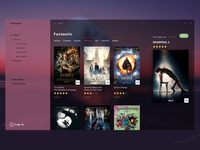 Interface for Movie Shop