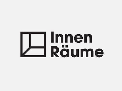 Innen Räume Logo design interior minimal logo