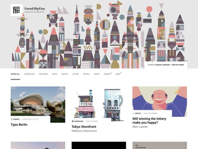 FormFiftyFive Update blog responsive redesign webdesign