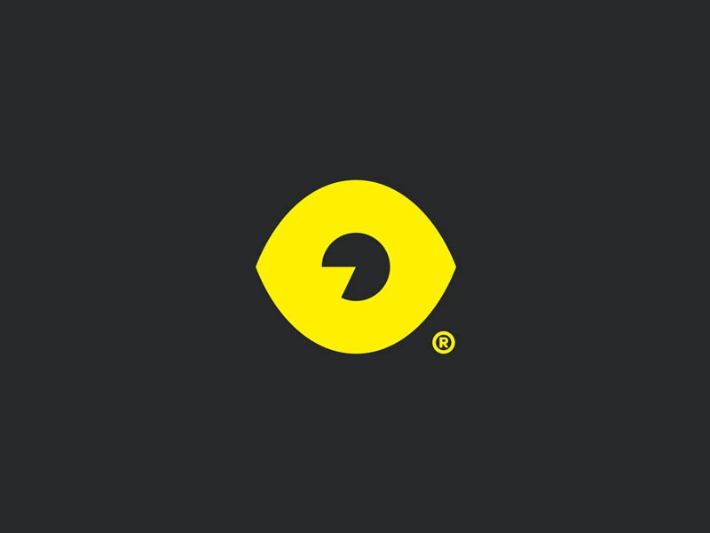 I see you minimal eye logo design logo icon