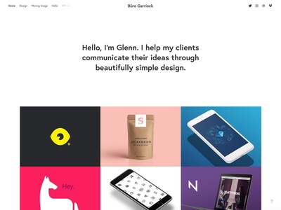 Website Update portfolio user interface design design web design
