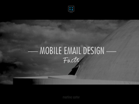 Mobile email design presentation