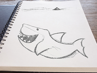 Sketching Happy Sharks