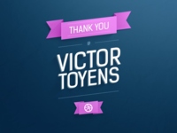 Thank You Victor Toyens