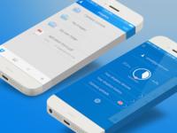 Redesign Dropbox app ios dropbox ui ux flat