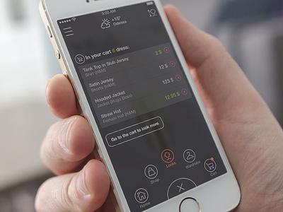 Virtual Dressing Room app ios flat ui icon ios7 iphone5s