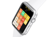 2048 On Watch 2048 iwatch watch concept game fun ios