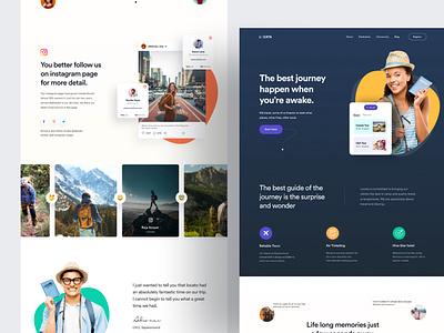 Locata Website Design ui design uidesign ui website design webdesign web homepage design branding web design landing page homepage website turjadesign dribbble
