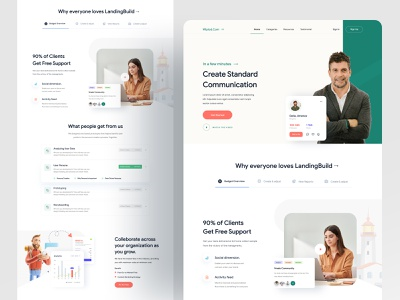Wipiod Web UI 2020 designer design website design web design website concept homepage design agency website branding webdesign landing page homepage website turjadesign dribbble