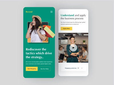 Revend Website Responsive Design 2021 figmadesign figma sketch desktop design dsgn agency website website design web design webdesign landing page homepage website branding homepage design dribbble turjadesign